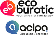 Logo d'Acipa et eco Burotic