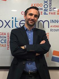 Portrait d'Arnaud Mesqui, Directeur Général et associé, Groupe Proxiteam
