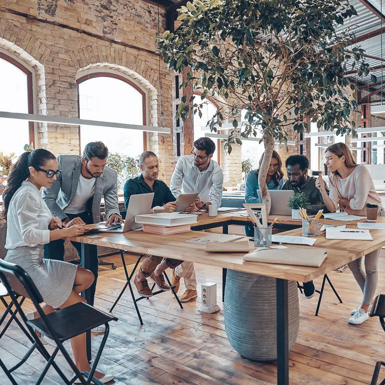 Le travail d'équipe en entreprise